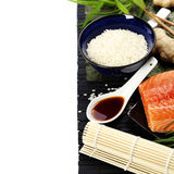 Sushi ingredients Royalty Free Stock Photography