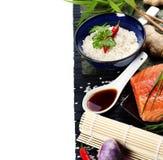 Sushi ingredients Stock Photo