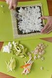 Sushi ingredients Royalty Free Stock Photography