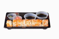 Sushi a ir Fotografía de archivo