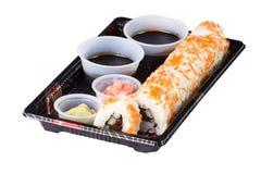 Sushi a ir Imagen de archivo
