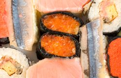Sushi isolated Royalty Free Stock Photography
