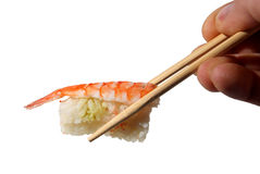 Sushi. (isolated) Royalty Free Stock Photos