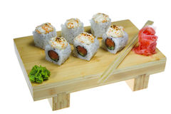 Sushi isolated Stock Photos