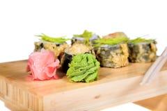 Sushi isolated Royalty Free Stock Photography