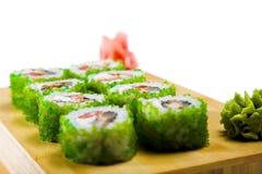 Sushi isolated Stock Images
