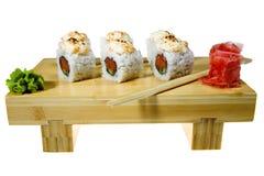 Sushi isolated Stock Photo
