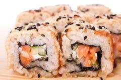 Sushi. Isolated Stock Photography