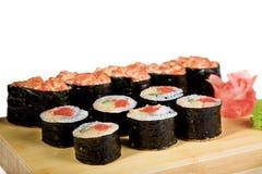 Sushi isolated Royalty Free Stock Image
