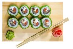 Sushi isolated Stock Photography