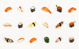 Sushi isolated Royalty Free Stock Photo