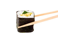 Sushi isolated object. Isolated object of sushi on a white background Stock Photo