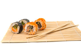 Sushi isolated Stock Photo