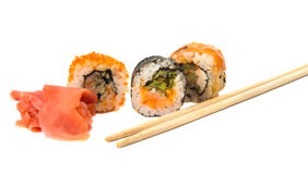 Sushi isolated Royalty Free Stock Photos