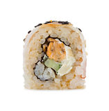 Sushi isolated on a white Royalty Free Stock Photos