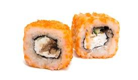 Sushi isolated Stock Image