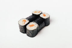 Sushi isolated on white Royalty Free Stock Image