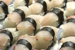 Sushi IX. A close up picture of some sushi food Royalty Free Stock Image