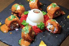 Sushi , Japan food Royalty Free Stock Photo