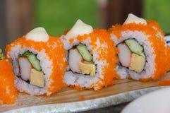 Sushi japanase food Royalty Free Stock Photo