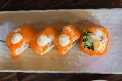 Sushi japanase food Royalty Free Stock Photos