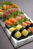 Sushi Japanese cuisine Royalty Free Stock Photo