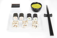 Sushi, japanese cuisine Stock Photo