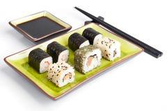 Sushi, japanese cuisine Royalty Free Stock Image