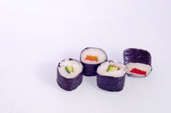 Sushi Japanese dishes Royalty Free Stock Photography
