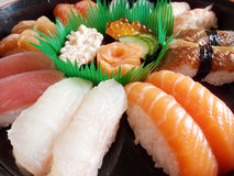Sushi-japanese food Stock Image