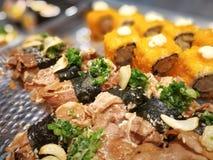 Sushi Japanese food Stock Photo