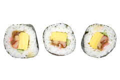 Sushi Japanese food Stock Images