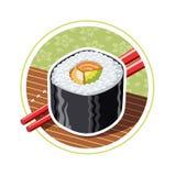 Sushi. Japanese food Stock Image
