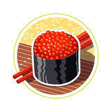 Sushi. Japanese food Stock Photo