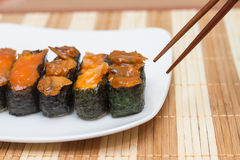 Sushi Japanese food Stock Photo