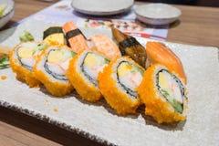 Sushi Japanese food Stock Images