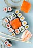 Sushi. Japanese food - Sushi and Sashimi Stock Image