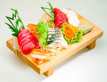 Sushi Japanese food set isolated  Royalty Free Stock Image