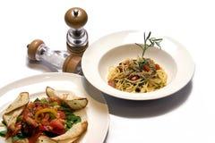 Sushi. Japanese Food  set on Wood Plate , Isolate White Baclground Royalty Free Stock Photos