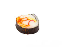 Sushi (Japanese food). The traditional food of the Japanese (Sushi Royalty Free Stock Photos