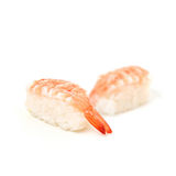 Sushi Japanese food on white backgroundon white background Stock Images
