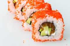 Sushi japanese roll japan meal fresh Stock Photo