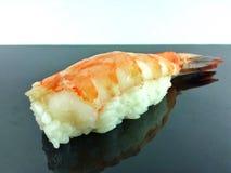 Sushi. Japanese sushi with shrimps Stock Photos