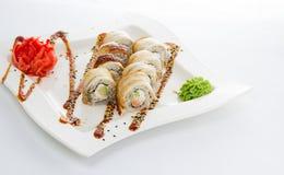 Sushi Japanische Küche Stockfoto