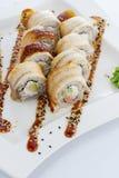 Sushi Japanische Küche Stockbild