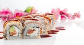 Sushi Japanische Küche Lizenzfreie Stockbilder