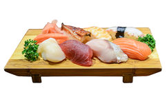 Sushi, japanisches Lebensmittel stockfotografie