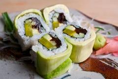 Sushi japonés Fotografía de archivo libre de regalías