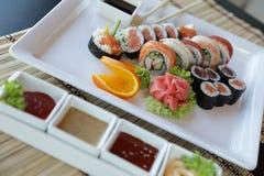 Sushi japonés Imagen de archivo