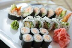 Sushi japonés Imagenes de archivo